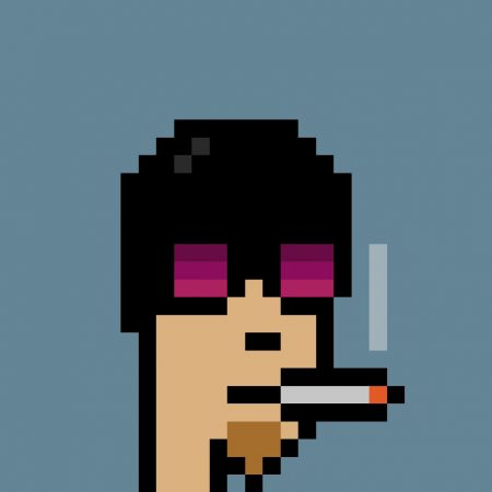 cryptopunks art nft collectible for sale 7864